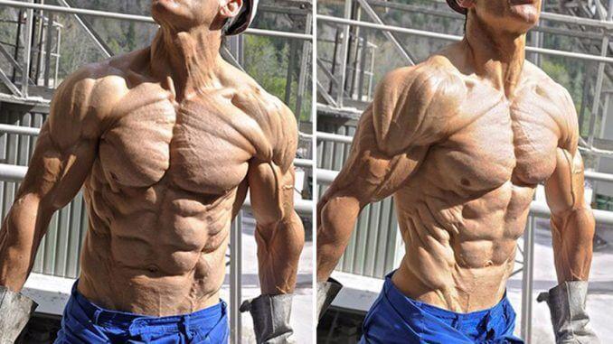 4 percent body fat man